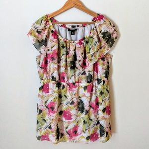 Style & Co | Floral Blouse